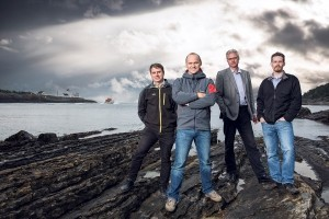 The four founders of Grenland Energy