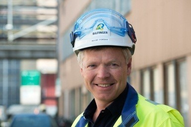Helge Forsaa is Head of Bilfinger's R&D Support Team in the area of fabrication, assembly and maintenance.