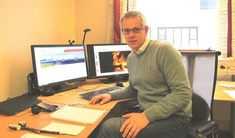 Photo of Trygve Rinde, head of Acona Flow Technology